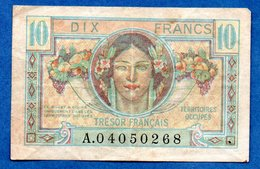 Trésor  -  10  Francs 1947  --  état  TB+ - 1947 Trésor Français