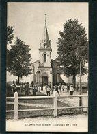 CPA - ANDERNOS LES BAINS - L'Eglise, Très Animé - Andernos-les-Bains