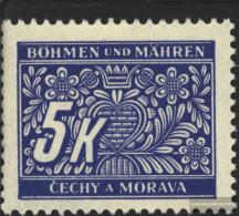 Bohemia And Moravia P12 Unmounted Mint / Never Hinged 1939 Postage Stamps - Bohemia & Moravia