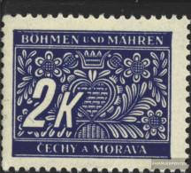 Bohemia And Moravia P11 Unmounted Mint / Never Hinged 1939 Postage Stamps - Bohemia & Moravia