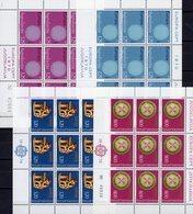 CEPT 1976 Kunst YUGOSLAVIJA 1379/0+1635/6 Kleinbogen ** 24€ Sonne Kooperation S/s Blocs M/s Sheetlets Art Bf EUROPA - Europa-CEPT