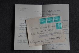 ESPAGNE - Timbres Sur Lettre De SAN SADURNI DE ROYA Vers FRANCE - 1931-Hoy: 2ª República - ... Juan Carlos I