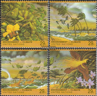 UN - New York 657-660 (complete Issue) Unmounted Mint / Never Hinged 1993 Climate Change - New York – UN Headquarters