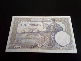 Yugoslavia Kingdom 100 Dinara 1929 - Yugoslavia