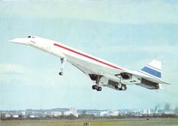 Avion - CONCORDE En Vol Le 2 Mars 1969 - Carte Offerte Par Le Journal Du Dimanche - 1946-....: Ere Moderne