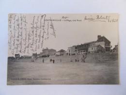 CPA Coutainville - La Plage, Côté Nord - Carte Animée, Circulée Vers 1907 - France