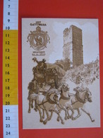 G.2 ITALIA GATTINARA VERCELLI - CARD NUOVA - 2012 200 ANNI UFFICIO POSTALE 1812 TORRE CARROZZA POSTA POSTINO STEMMA - Altri