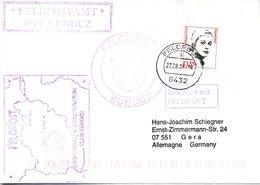 """(BWFP2) CACHET-Umschlag NATO-Einsatz BW Feldpost ISAF """"Feldpostamt PRT KUNDUZ 22.8.05 Feldpost 6432 - BRD"""