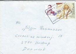 Venezuela - Cover Sent To Denmark 1998  H-1555 - Venezuela