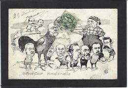 CPA Clemenceau Satirique Caricature Circulé Tigre - Personnages