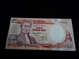Colombia 100 Pesos 1991 -  UNC - Colombie