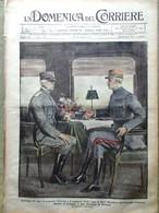 La Domenica Del Corriere 8 Luglio 1917 WW1 Cadorna Foch Rasputin Marconi Asiago - Guerra 1914-18