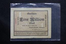 ALLEMAGNE - Billet De Nécessité De 1 Million De Mark En 1923 De Bergbau - L 25373 - Lokale Ausgaben
