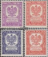 Polonia D17-D18,D19-D20 (completa Edizione) Con Fold 1933/35 Francobolli - 1919-1939 Republic