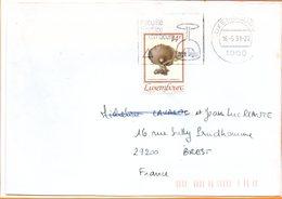 """Luxembourg, Flamme """"sécurité Routière"""" - Luxembourg"""