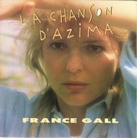 """FRANCE GALL """"LA CHANSON D'AZIMA - C'EST BON QUE TU SOIS LA"""" DISQUE VINYL 45 TOURS - Vinyles"""