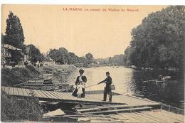LA MARNE EN AMONT DU VIADUC DE NOGENT - France