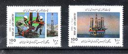 Iran - 1992. Estrazione Del Petrolio; Piattaforma Marina. Oil Extraction; Marine Platform. MNH - Professioni