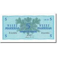 Billet, Finlande, 5 Markkaa, 1963, Undated, KM:106Aa, NEUF - Finland