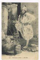 CPA.Maroc. Maureque Au Puits.     (F.467) - Otros