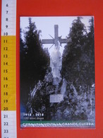 G.2 ITALIA GATTINARA VERCELLI - CARD NUOVA - 2018 MOSTRA 100 ANNI GRANDE GUERRA ALPINI ANA MONUMENTO - Monumenti Ai Caduti