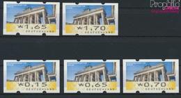 BRD ATM6 Satz VS1 (0,15,0,65,0,70,1,65,1,70) Nominale Postfrisch 2008 Automatenmarke (9293602 - BRD