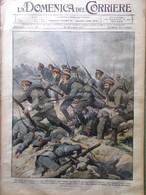 La Domenica Del Corriere 15 Luglio 1917 WW1 Houdini Funerali Randaccio Adamello - Guerra 1914-18