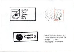 """(BWFP2) CACHET-Umschlag NATO-Einsatz BW Feldpost ISAF """"Tag Der Deutschen Einheit ISAF4"""" 3.10.03 FELDPOST 1391 - BRD"""