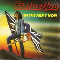 "STATUS QUO ""IN THE ARMY NOW - HEARTBURN"" DISQUE VINYL 45 TOURS - Vinyles"