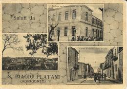 S.BIAGIO PLATANI (AGRIGENTO)  VEDUTINE -FG - Agrigento
