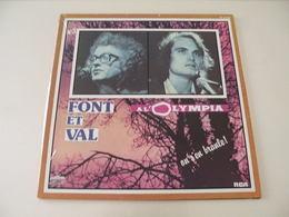 Font Et Val à L'Olympia, On S'en Branle! - (Titres Sur Photos) - Vinyle 33 T LP - Humour, Cabaret