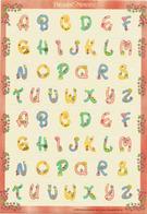 Precious Moments ! Lettres Alphabétiques Pour Les Fêtes,adhésifs. Feuille Entière Neuve , Origine Singapour - Saisons & Fêtes
