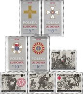 Polen 2926-2929,2930-2933 (completa Edizione) Usato 1984 People's Republic Of, Uprising - Gebruikt