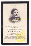 DP Foto - Euphrasie E. Bossaert ° Lo-Reninge 1863 † 1905 X Polidoor S. Delva - Santini