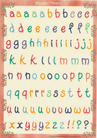 Precious Moments ! Lettres Alphabétiques Pour Les Fêtes, Adhésifs. Feuille Entière Neuve , Origine Singapour - Saisons & Fêtes