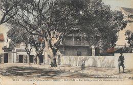 Afrique Occidentale Française - Sénégal, Dakar - La Délégation Du Gouvernement - Collection Fortier - Carte N° 2103 - Sénégal