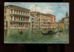 C919 VENEZIA - CANAL GRANDE FORMATO PICCOLO ILLUSTRATA VG 1919 ? - Venezia