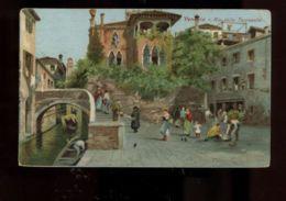 C922 VENEZIA - RIO DELLE TORRESELLE FORMATO PICCOLO ILLUSTRATA VG 1913 - Venezia
