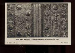 C925 VENEZIA - BIBLIOTECA NAZIONALE MARCIANA LEGATURA BIZANTINA FORMATO PICCOLO - Venezia