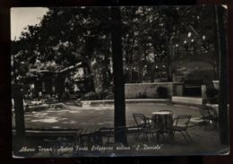 C947 ABANO TERME - SAN DANIELE ANTICA FONTE SOLFOROSA B\N VG  1954 - Altre Città