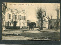 CPA - LA TESTE - Place Jean Hameau, Animé - Attelage - Other Municipalities