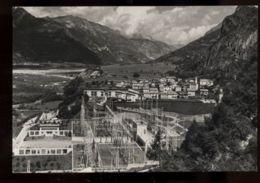 C964 SOVERZENE (BELLUNO) - PANORAMA CON LA CENTRALE ELETTRICA ACHILLE GAGGIA B\N VG 1961 - Italia