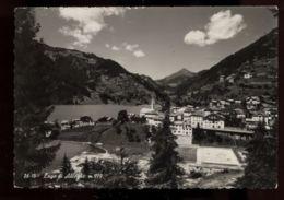 C969 LAGO DI ALLEGHE - PANORAMA CON CAMPO DA TENNIS B\N VG 1963 - Italia