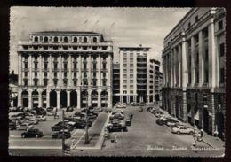 C978 PADOVA - PIAZZA INSURREZIONE CON AUTO B\N VG 1958 - Padova