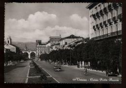C985 VERONA - CORSO PORTA NUOVA B\N FG VG 1959 - Verona