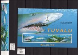 2000 - TUVALU - Mi.. Nr. 798/801 + BF 70A - NH - (UP.207.48) - Tuvalu