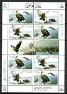 Armenien / Armenie / Armenia / Artsakh / Karabakh 2019, EUROPE EUROPA CEPT, Eagle, Fauna MS - MNH - 2019