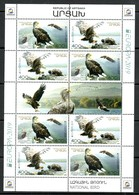 Armenien / Armenie / Armenia / Artsakh / Karabakh 2019, EUROPE EUROPA CEPT, Eagle, Fauna MS - MNH - Armenia