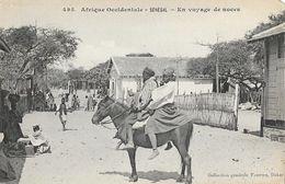 Afrique Occidentale Française, Sénégal - En Voyage De Noces à Cheval - Collection Fortier, Carte N° 495 Non Circulée - Sénégal