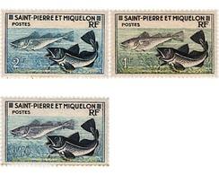 Ref. 207507 * MNH * - ST. PIERRE AND MIQUELON. 1957. FISHING . PESCA - Ungebraucht